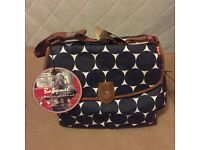 brand new babymel baby changing bag and mat