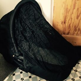 City baby jogger carrycot with adaptors and snooze shade