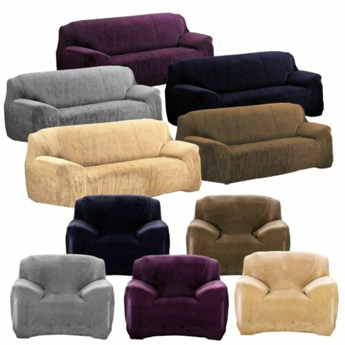 1 2 3 4 Seater Universal Stretch Sofa Covers Protector Couch