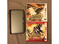 Nintendo 3DS XL and Pokemon game(s) for sale