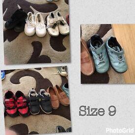 Boys size 9 shoes
