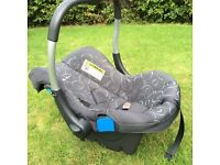Silver Cross Linear FreeWay in Charcoal Pram Pushchair Travel system 3 in 1
