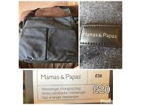 Mamas and Papas changing bag