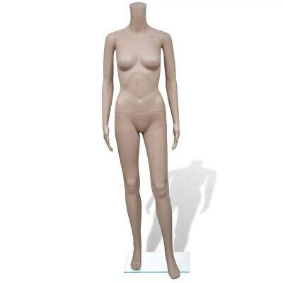 Female Mannequin Torso Dress Form Woman Clothes Coat Display Elegant Pose Style