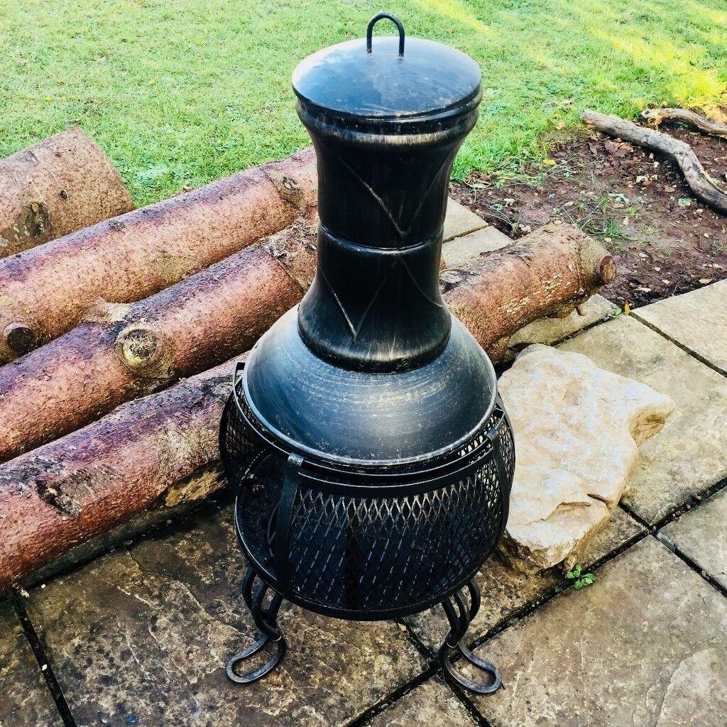 89cm Steel Chimemea, not used. £40 ono.