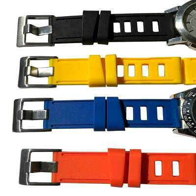 Silicon Rubber Diving watch Strap 20mm-22mm-24mm