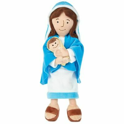 Mother Mary & Jesus Plush Stuffed Doll by Hallmark First Communion Gift! (Jesus Doll)