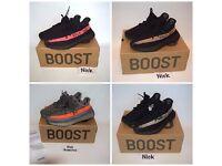 adidas Yeezy Boost 350 V2 UK3-12 Black / Red Black / Copper / Beluga Black / White