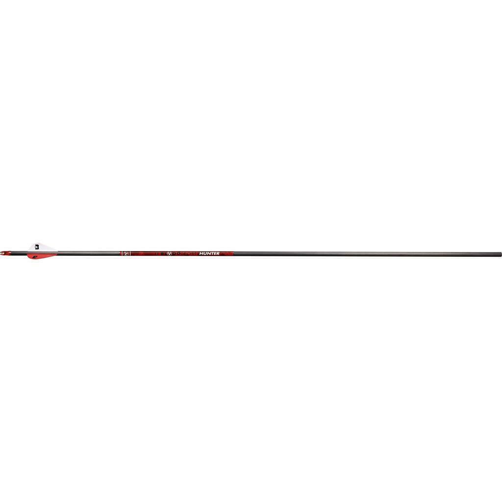 "6 Pack NEW BloodSport Hunter 350 Arrows w//Blazer Vanes Inserts Installed 29.5/"""
