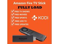 FireStick Fully Loaded LIVE TV/SPORTS & MOVIES SKY SPORTS WWE BOX NATION 2016 FREE Not Iphone