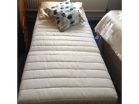 IKEA chair bed very good clean condition with blue cover