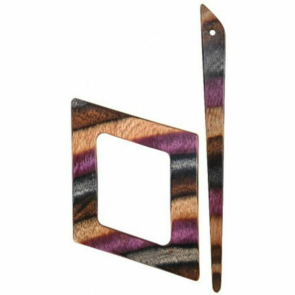 KnitPro Tuchnadel Lila Alpha elegantes Design schmückt jedes Kleidungsstück
