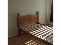 Oak Double Bed Frame