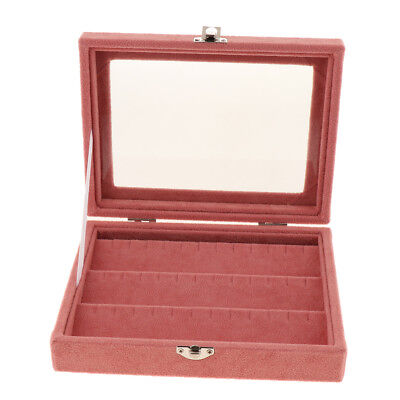Velvet Earrings Storage Display Case Holder Hanger Organizer Jewellery Box S
