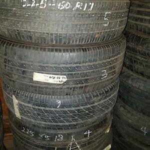One tire size 225 55 19 available for sale