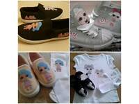 Customized clothing and shoes