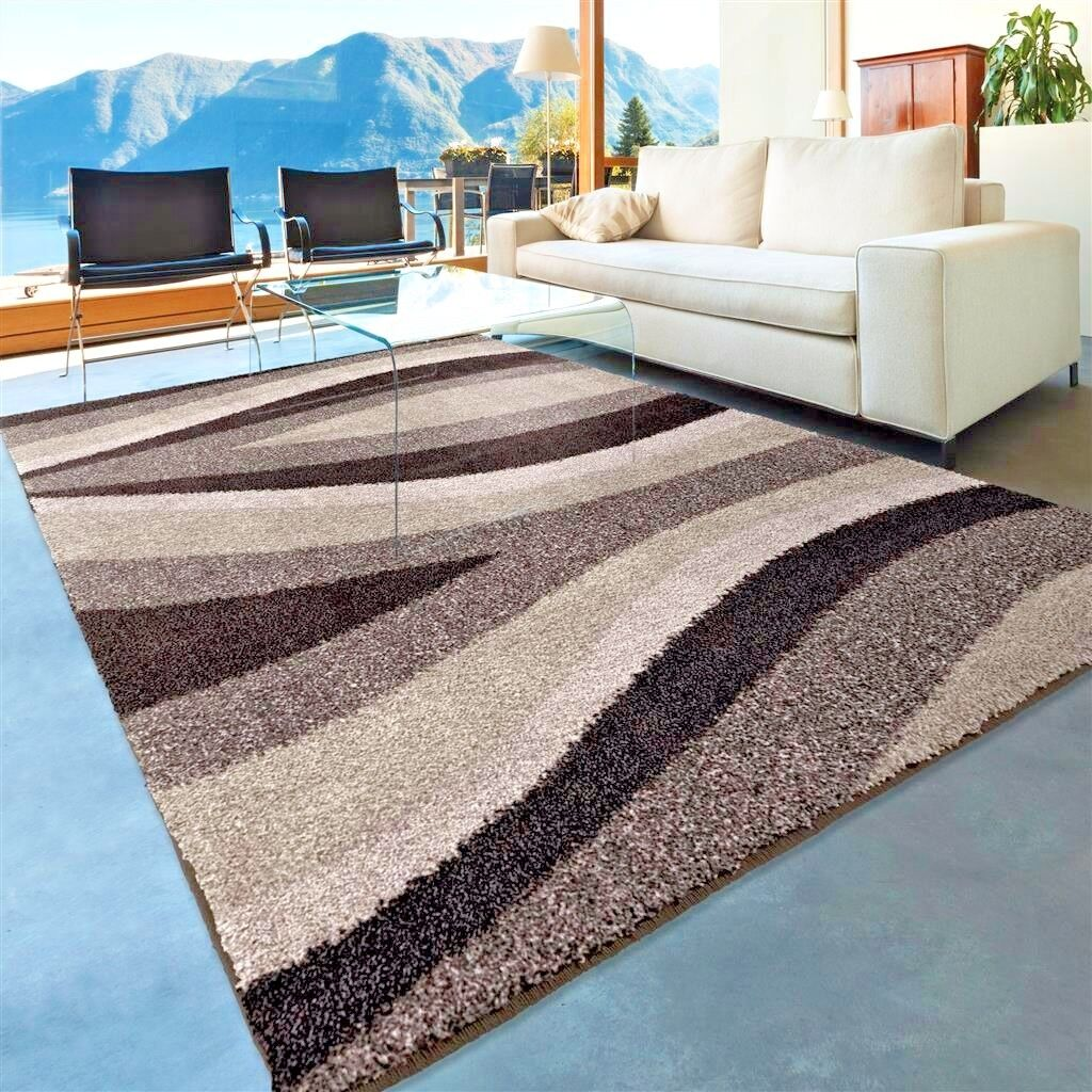 Rugs Area Rugs 8x10 Area Rug Carpets Shag Rugs Floor Modern Gray