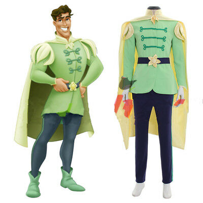 The Princess And The Frog Prince Naveen outfit Adult Men Cosplay costume HH.850