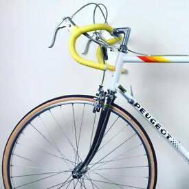 Peugeot Triathlon Road Bike Vintage Racing Bicycle