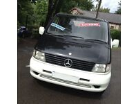 03 HI SPEC MERCEDES BENZ VITO 110 CDI DAY VAN /SURF BUS/6 SEATER/REAR NEW MOT/MAZDA BONGO/VW T4 T5