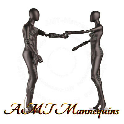 Female Male Full Body High End Mannequinsflexible Armsstands Dancing Couple
