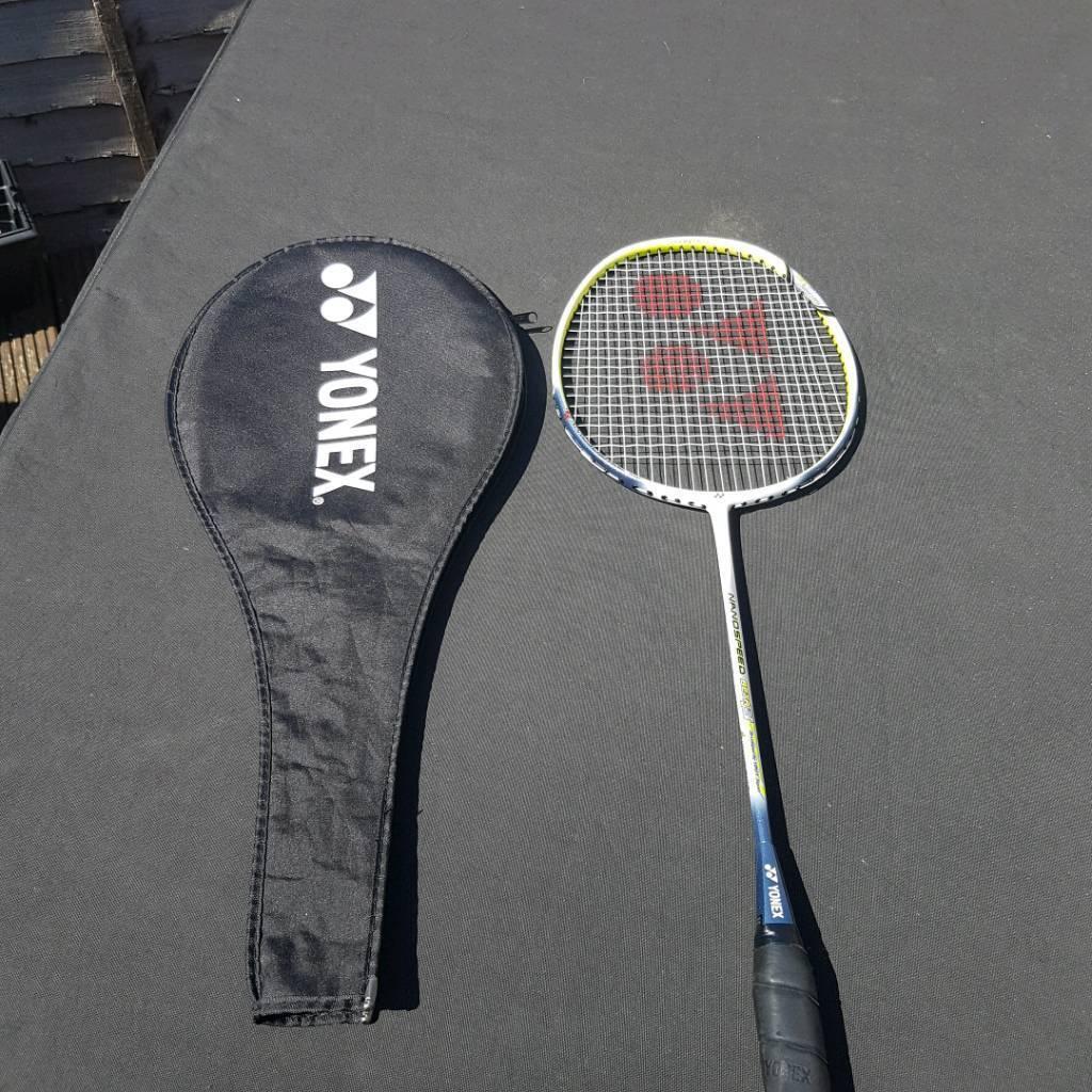 Yonex nanospeed badminton racket