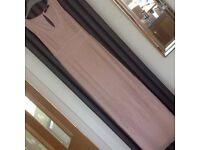 Beautiful beaded pink maxi dress