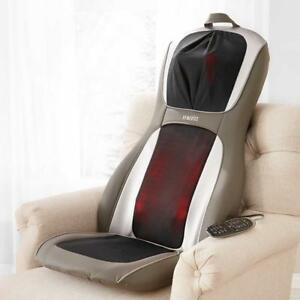 NEW HoMedics Perfect Touch Masseuse App controlled Massage Cushion with Heat