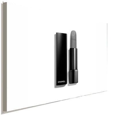 CHANEL Lippenstift Schwarz Weiss  Leinwandbild AK ART Kunstdruck Wandbild XXL (Chanel Leinwand Bild)