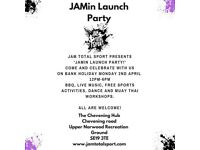 JAMin Total Sport Launch Party - Family Fun on Easter Monday - Norwood, SE19