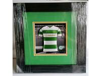 Glasgow Celtic FC 3D mini kit.