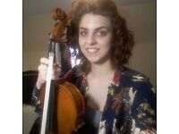 Violin & Viola Teacher in Finsbury Park for all ages & abilities