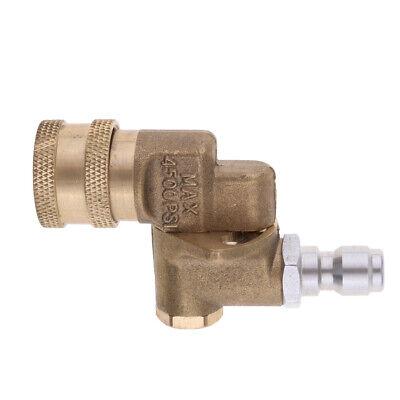 "Pressure Washer Coupler, 1/4"" Quick Connect Pivot High Press"