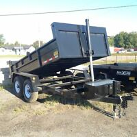 2016 Advantage 7 TON DUMP TRAILER