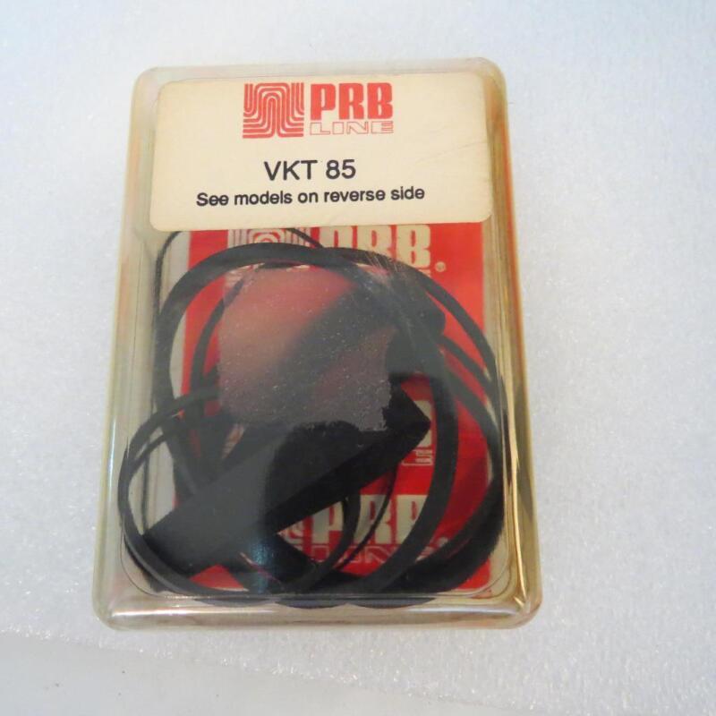 PRB VKT85 VHS VCR Belt Kit Fits Many Brands listed in Description 6 Belts