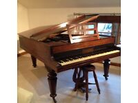 John Broadwood of London cottage grand piano very good condition