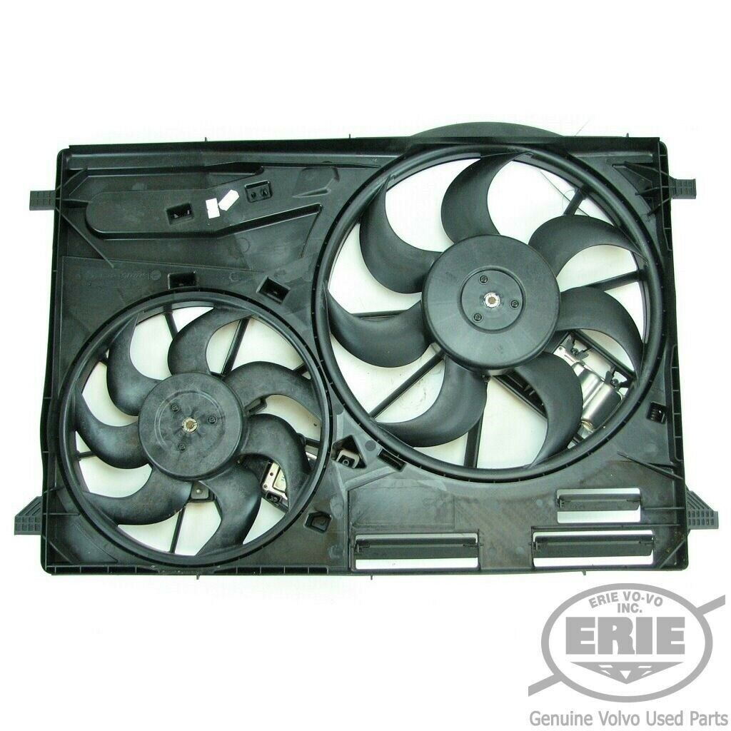 Volvo Engine Radiator Cooling Fan Assembly S60 S80 V70 XC60 XC70 6-Cyl /& 8-Cyl