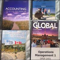 Business Admin Textbooks for Niagara College
