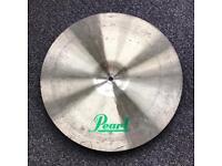Pearl ride cymbal