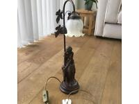 Bronze Finish table lamp