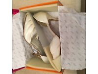 Size 8 Toscana Wedding Shoes - REDUCED