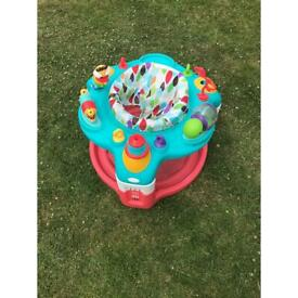 Baby jumping toy
