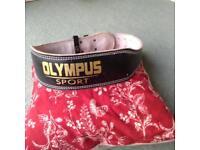 Olympus sport large weight lifting belt