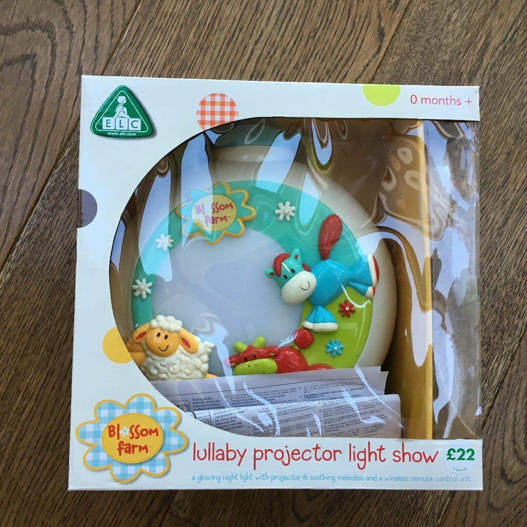 Elc Blossom Farm Lullaby Projector Light Show With Remote In Weybridge Surrey Gumtree