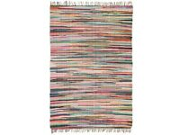 Hand-woven Chindi Rug Cotton 200x290 cm Multicolour-245219