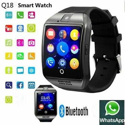 Q18 Reloj Inteligente Smart Watch Bluetooth SIM Para iPhone Samsung Android SIM
