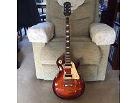 Gibson Epiphone Les Paul Guitars.