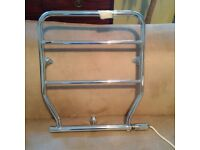 small electric Mason towel rail or heater in excellent condition