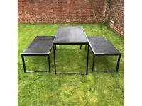 Garden/Patio table & Benches