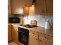 Kelvin maple style kitchen units with integrated extractor fan